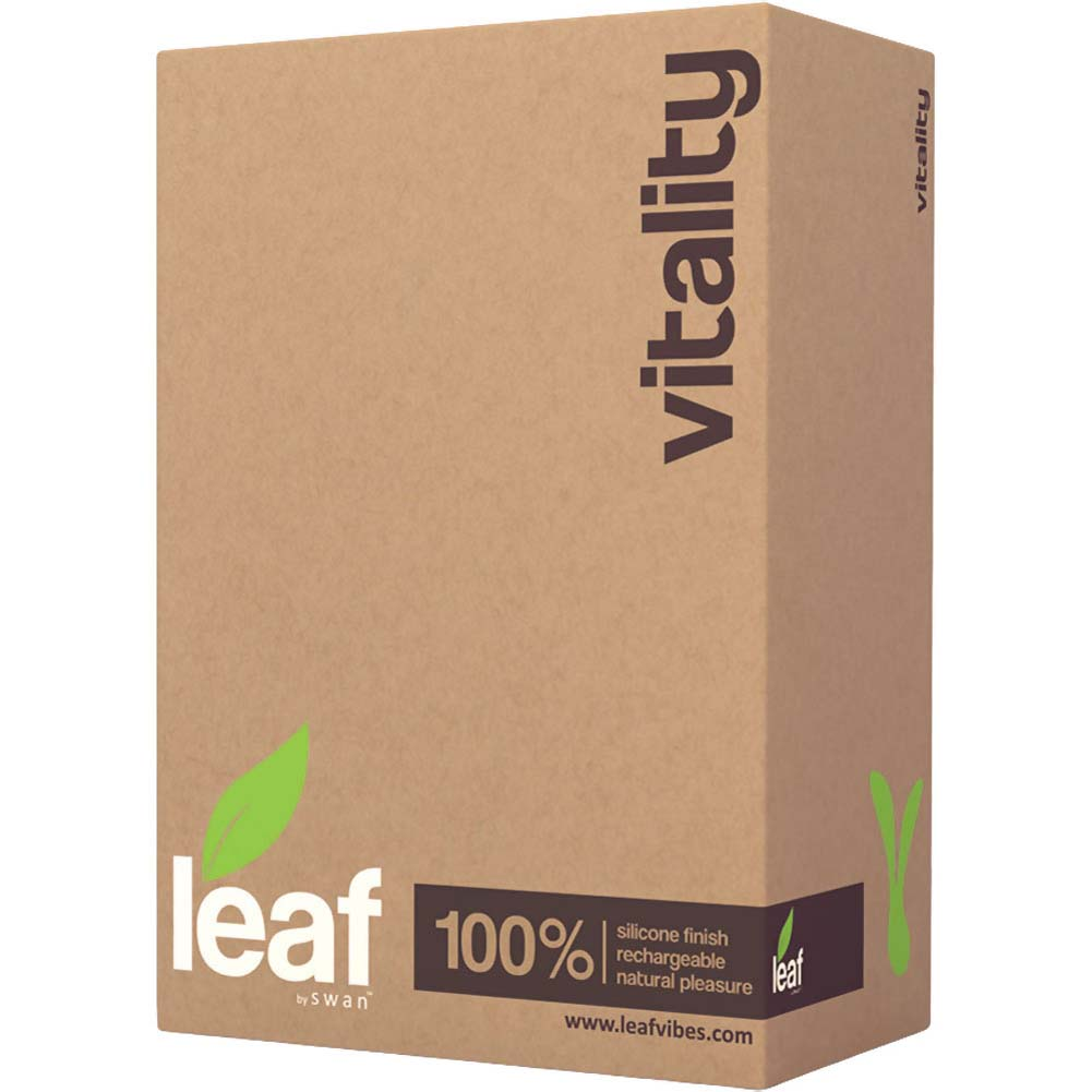 """Vitality by Leaf - Rechargeable Silicone Vibrator 5"""" Green - View #4"""