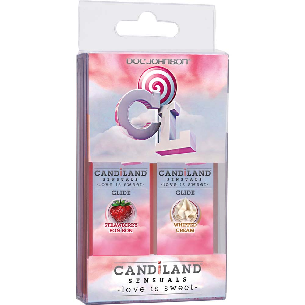 CANDiLAND SENSUALS Glide Lubricant Set 2 Pack 1 Fl. Oz. Each - View #1