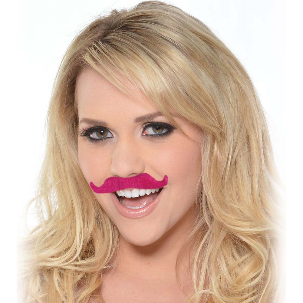 Bachelorette Party Favors Mustache Party Kit Pink - View #2