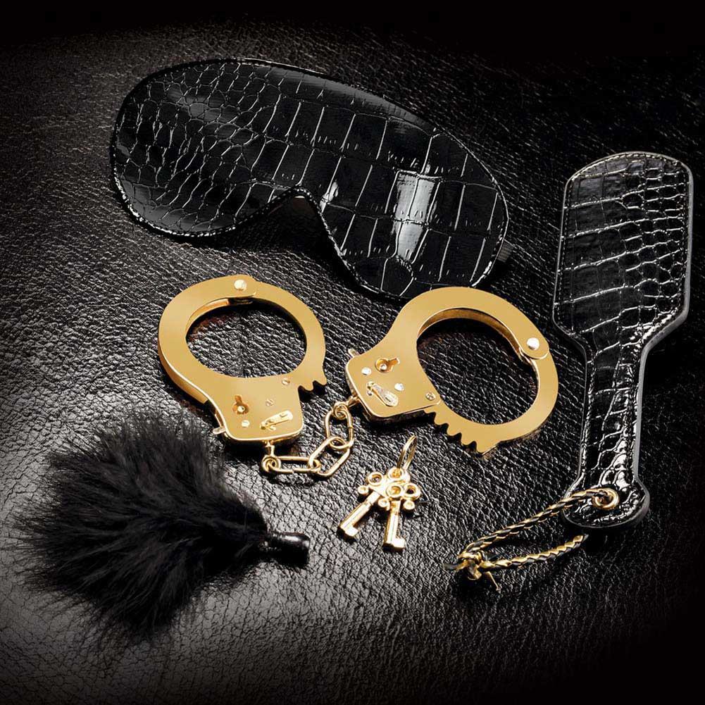 Fetish Fantasy Gold BeginnerS Fantasy Kit Black - View #1