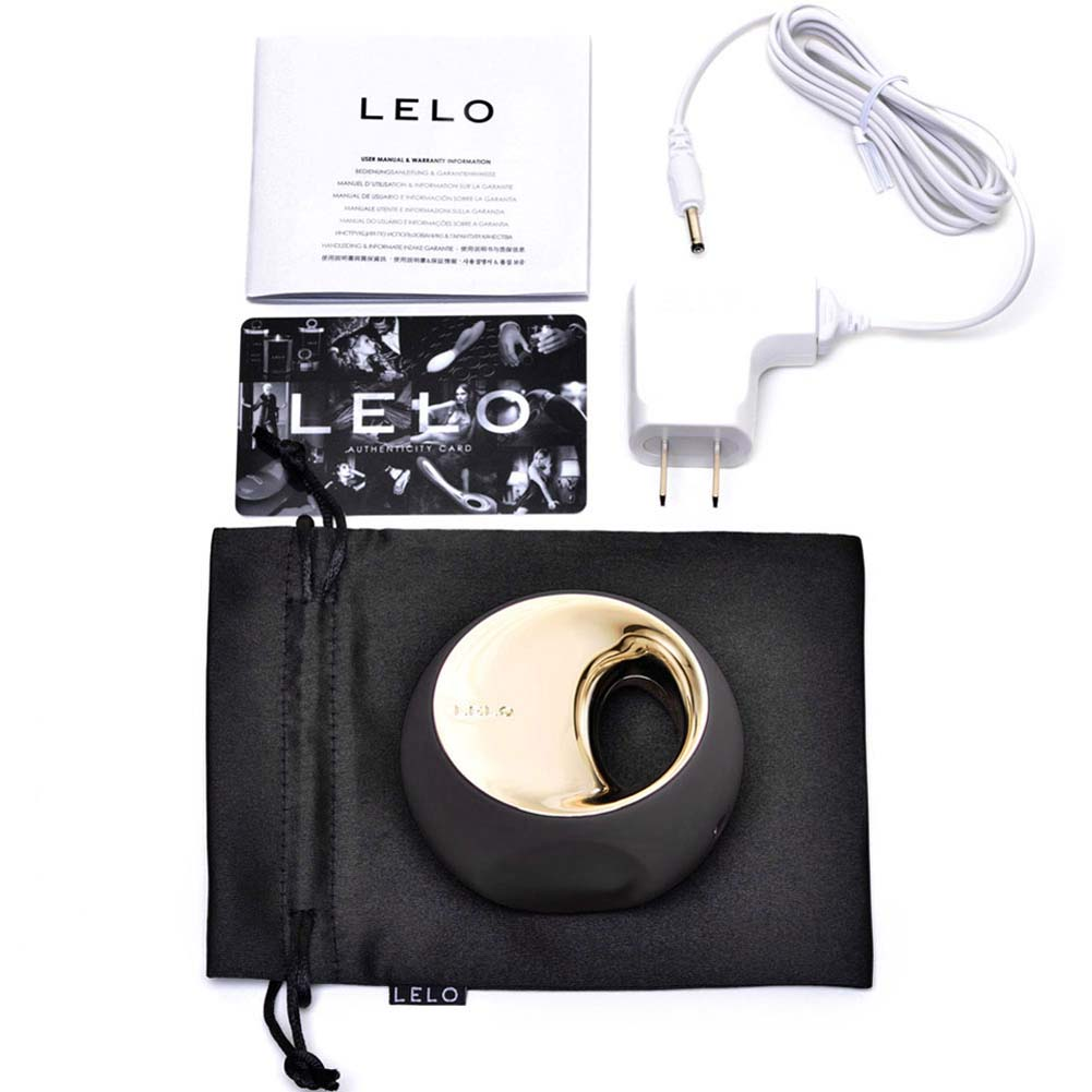 Lelo Ora 2 Vibrating Silicone Massager Black - View #3