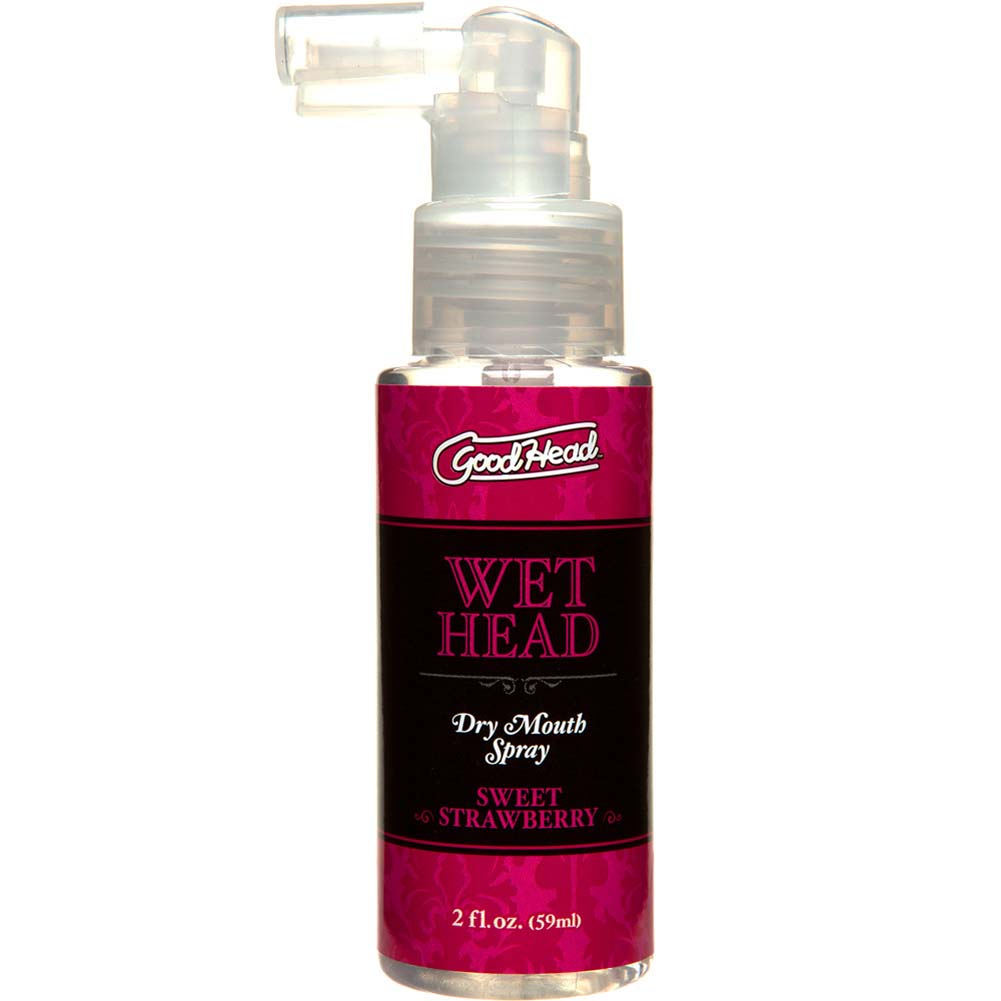 GoodHead Wet Head Dry Mouth Spray Sweet Strawberry 2 Fl. Oz. - View #2