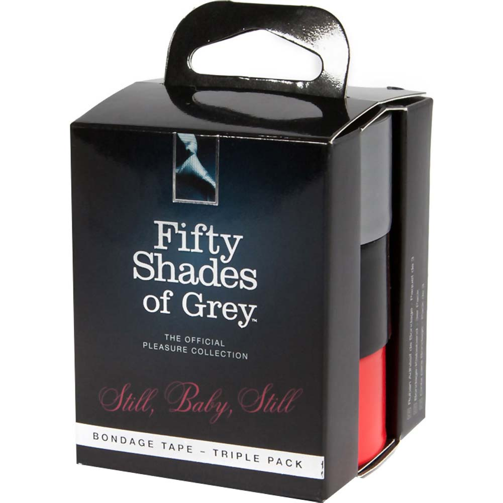 Fifty Shades of Grey Still Baby Still Bondage Tape Triple Pack - View #1