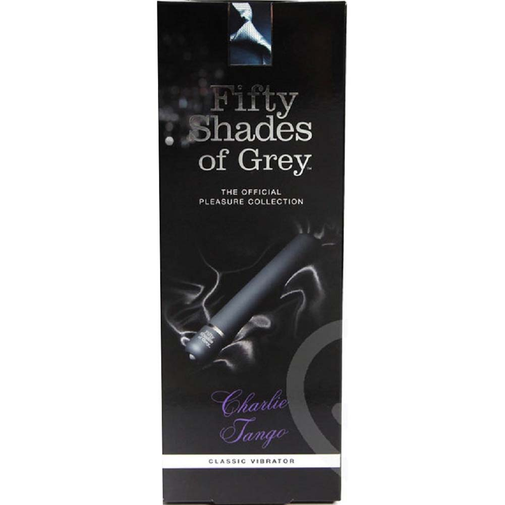 "Fifty Shades of Grey Charlie Tango Intimate Vibrator 7.25"" Black - View #4"