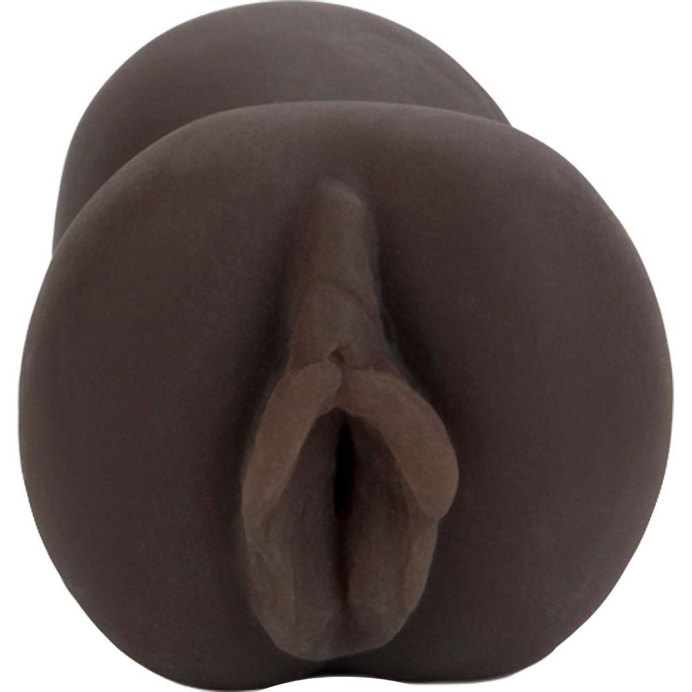 "G.N.D. Girl Next Door Pocket Pal Masturbator for Men 5.5"" Ebony - View #3"