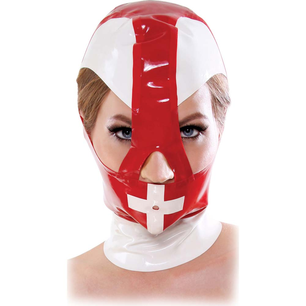 Fetish Fantasy Extreme Malpractice Mask Red - View #1