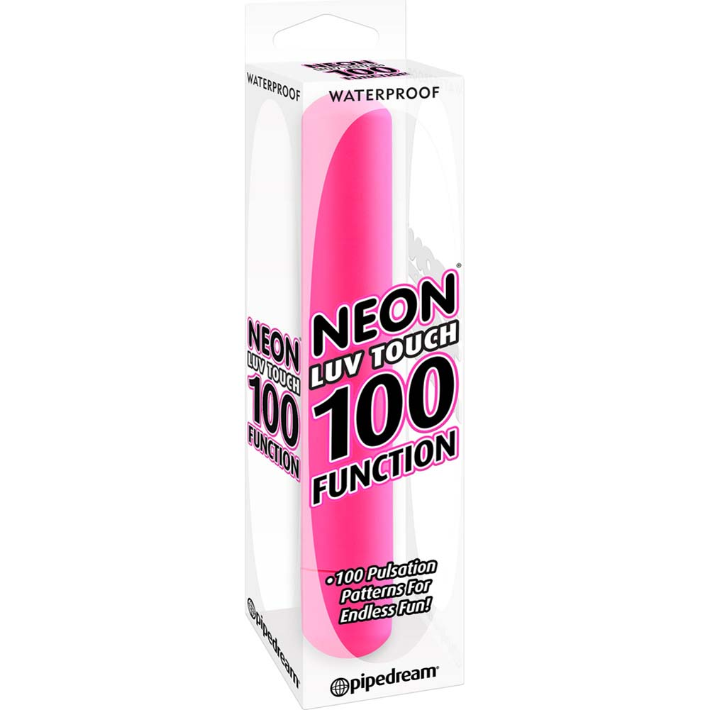 Neon Luv Touch 100 Function Vibrator Pink - View #1