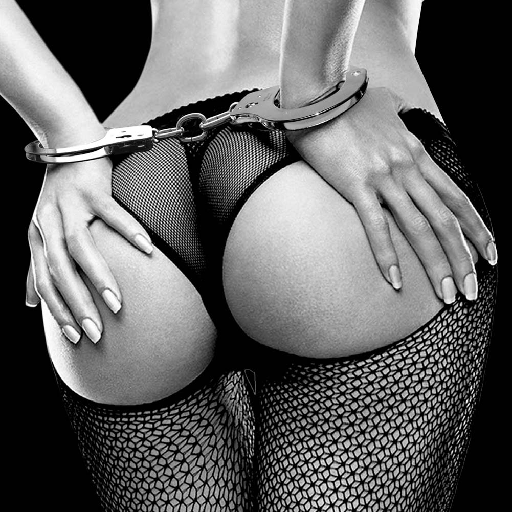 Fetish Fantasy Limited Edition Metal Handcuffs - View #2