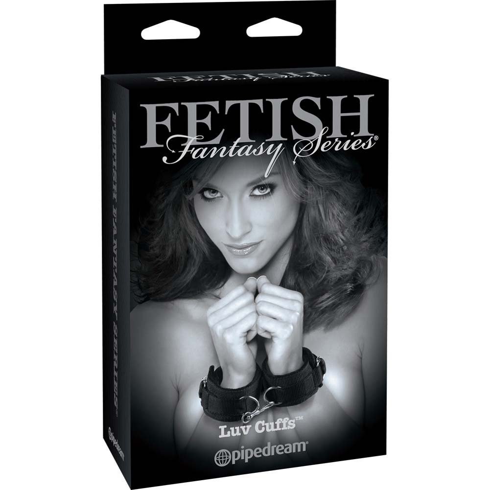 Fetish Fantasy Limited Edition Luv Cuffs Black - View #4