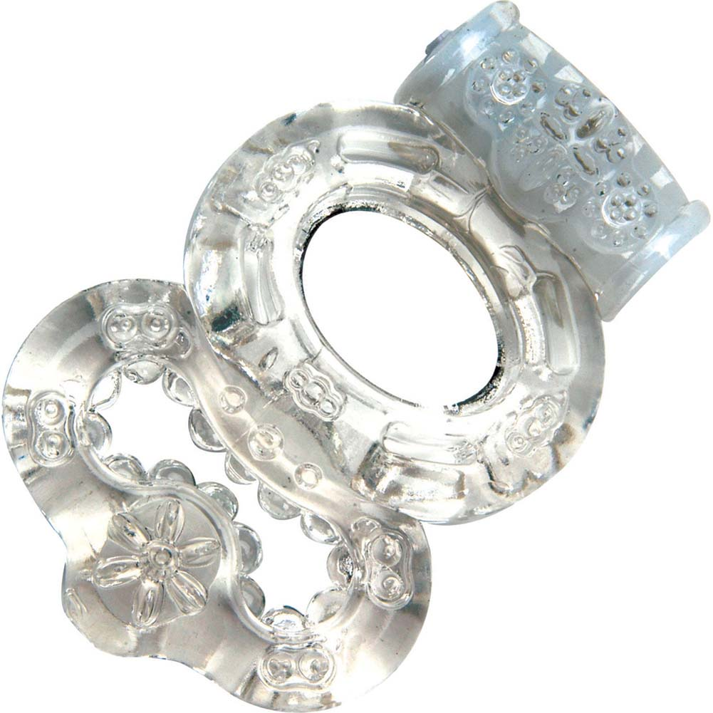 Climax Gems Vibrating Crystal Ring Clear - View #2