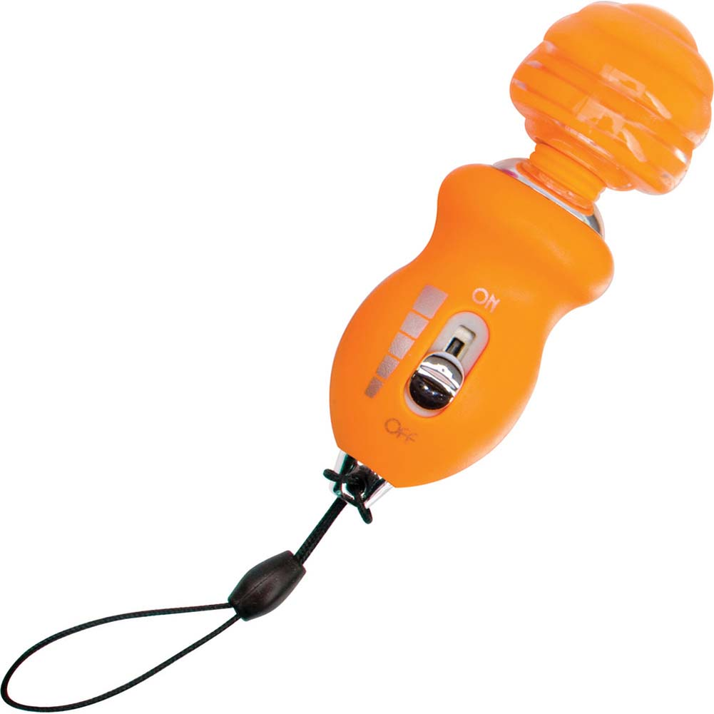 Climax Minis Mighty MCX Vibrating Mini Massager Orange - View #2