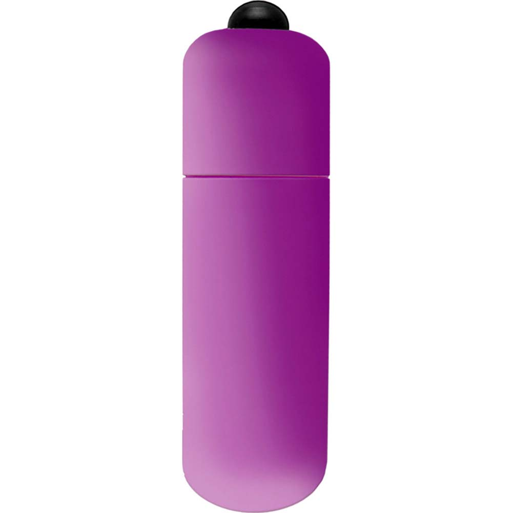 "Neon Luv Touch Vibrating Bullet 2.25"" Purple - View #2"