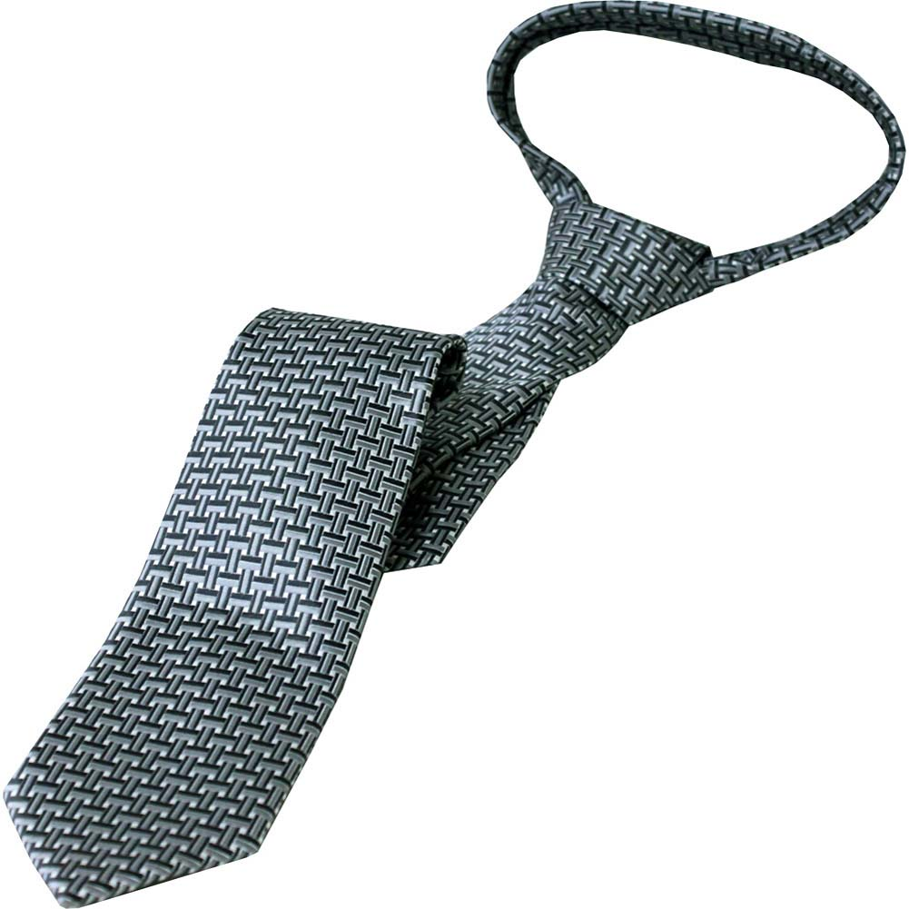 Laurant Bennet Shades of Luxury The Milano Grey Tie - View #2