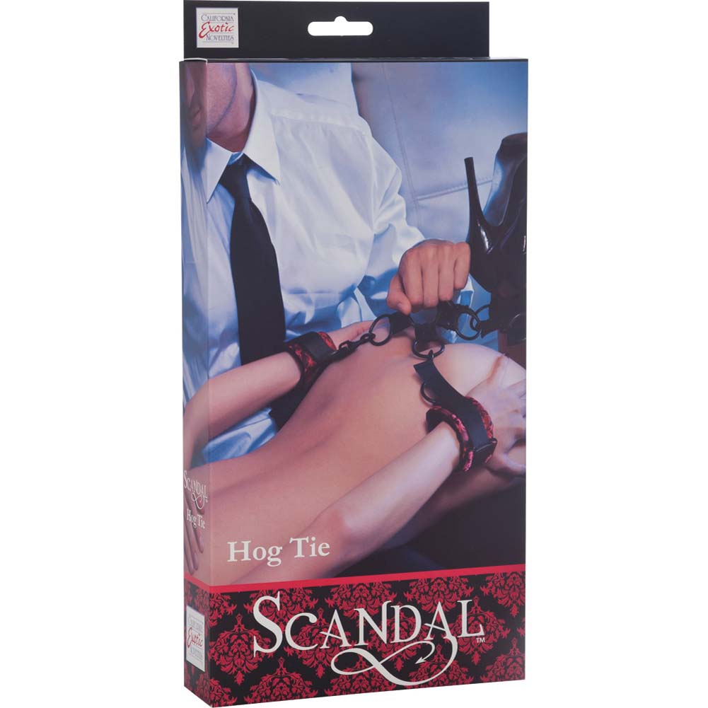 CalExotics Scandal Hog Tie Kit Black/Red - View #4
