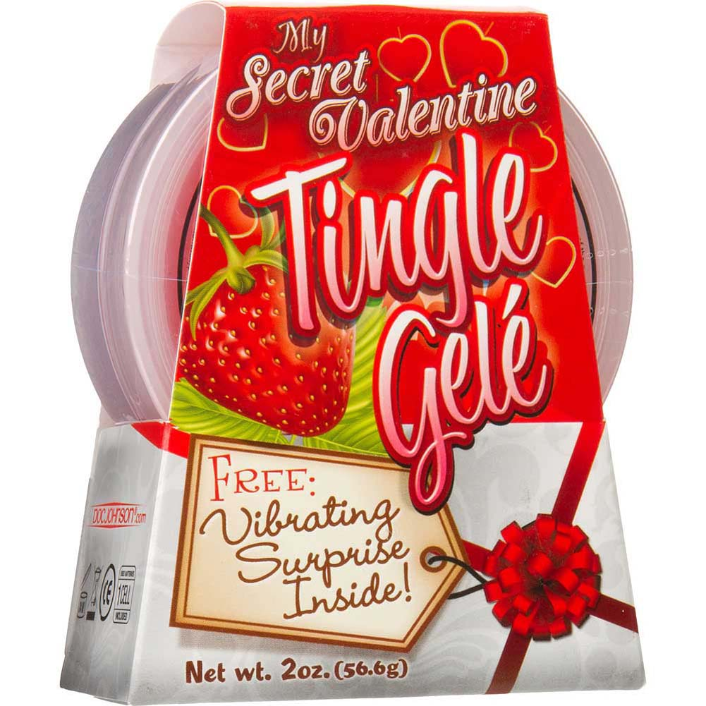 My Secret Valentine Tingle Gele Strawberry - View #1