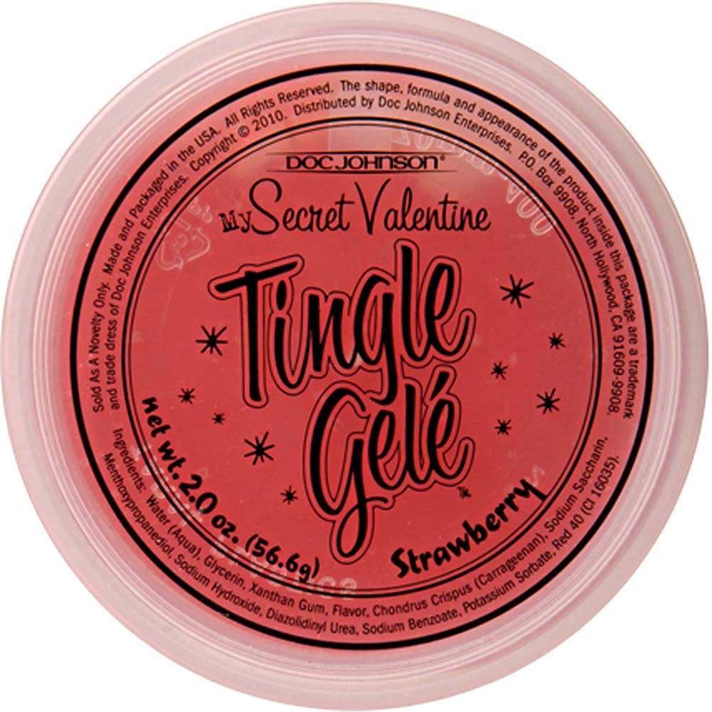 My Secret Valentine Tingle Gele Strawberry - View #3