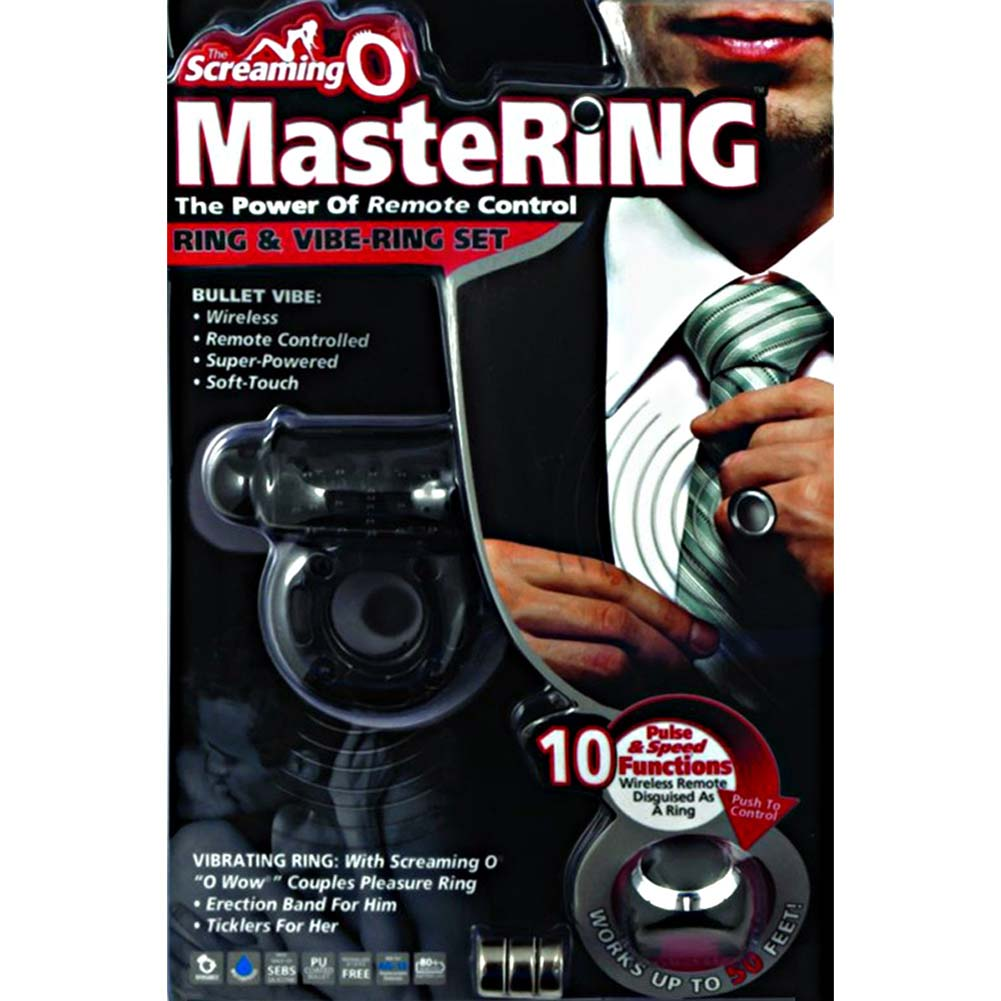 MasteRing Wireless Remote and O Wow Set Black - View #4