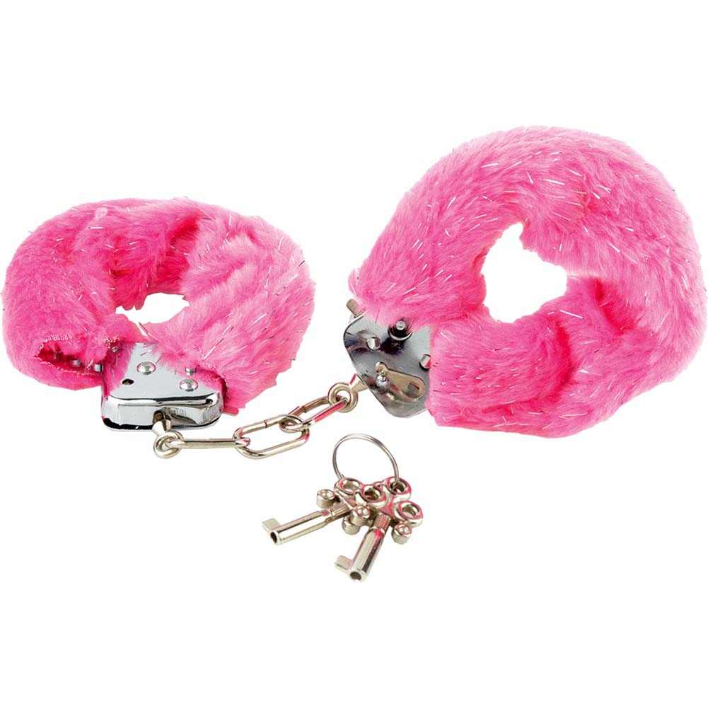 Fethis Fantasy Fancy Furry Cuffs Pink - View #2