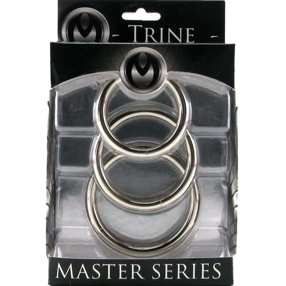 Master Series Trine Steel C-Ring Collection Silver - View #1