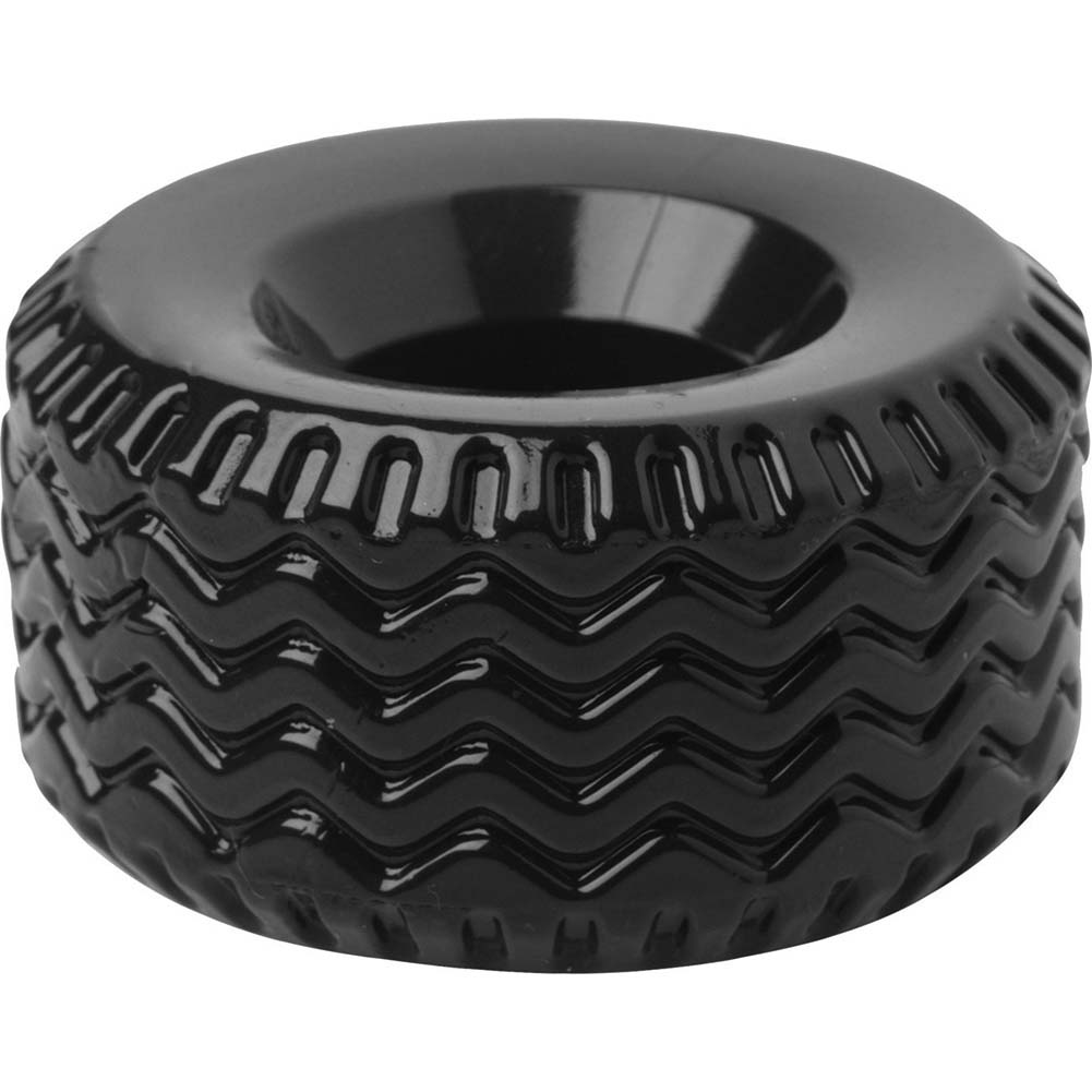 Master Series Tread Ultimate Tire Cock Ring Black - View #3