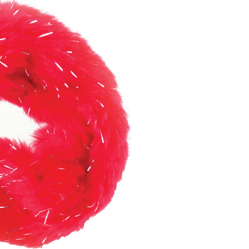 Fethis Fantasy Fancy Furry Cuffs Red - View #4