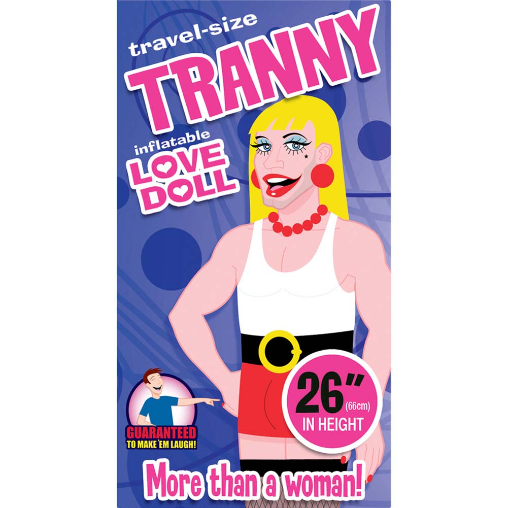 Tranny Inflatable Travel Love Doll - View #2