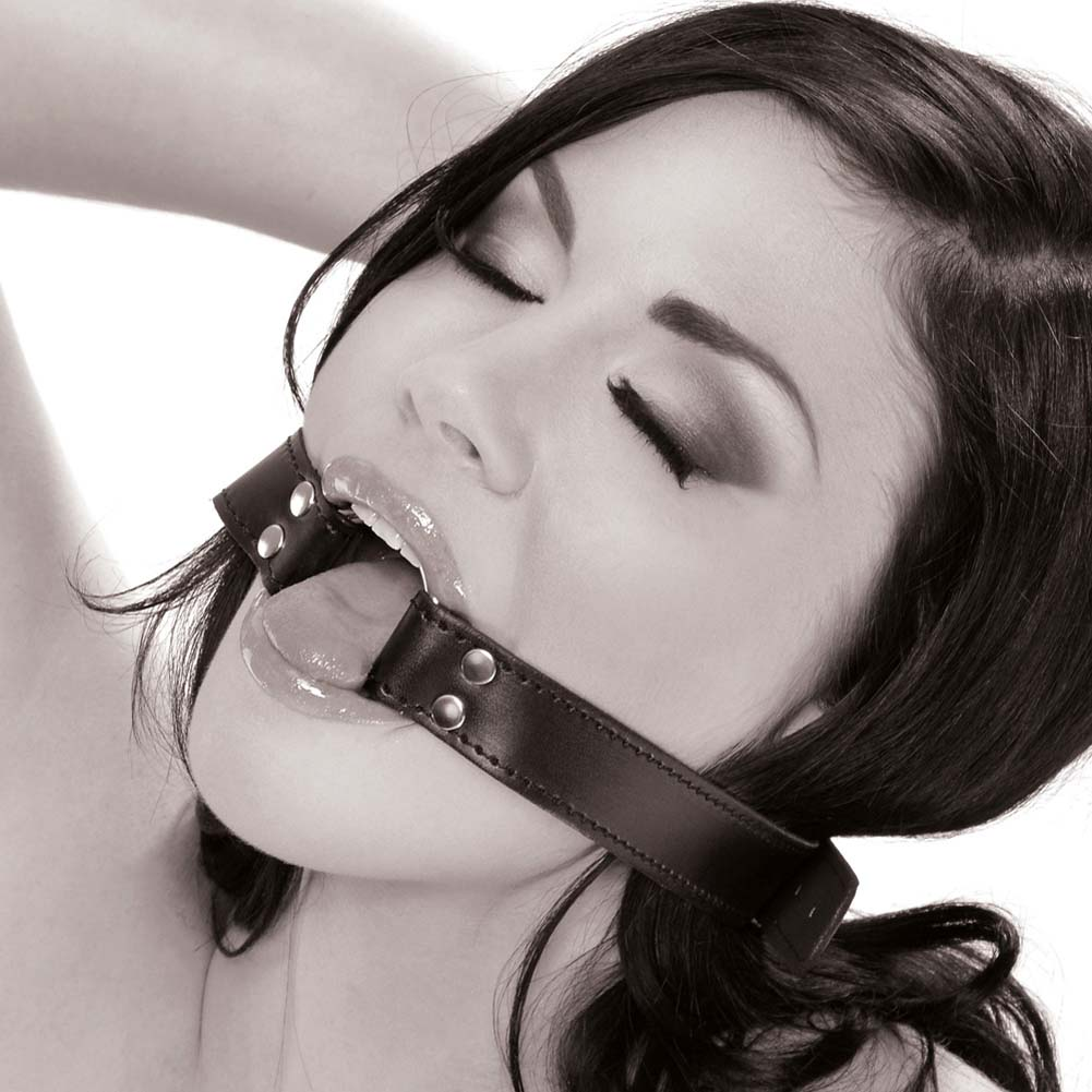 Fetish Fantasy Limited Edition O-Ring Gag Black - View #2