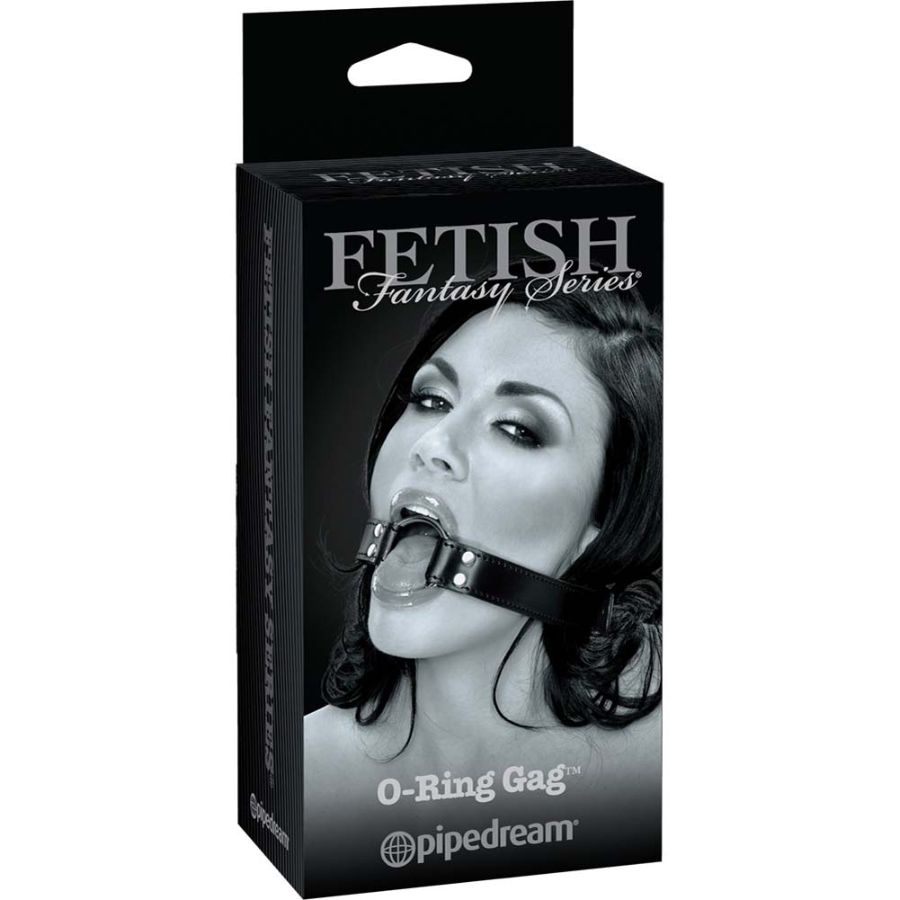 Fetish Fantasy Limited Edition O-Ring Gag Black - View #4