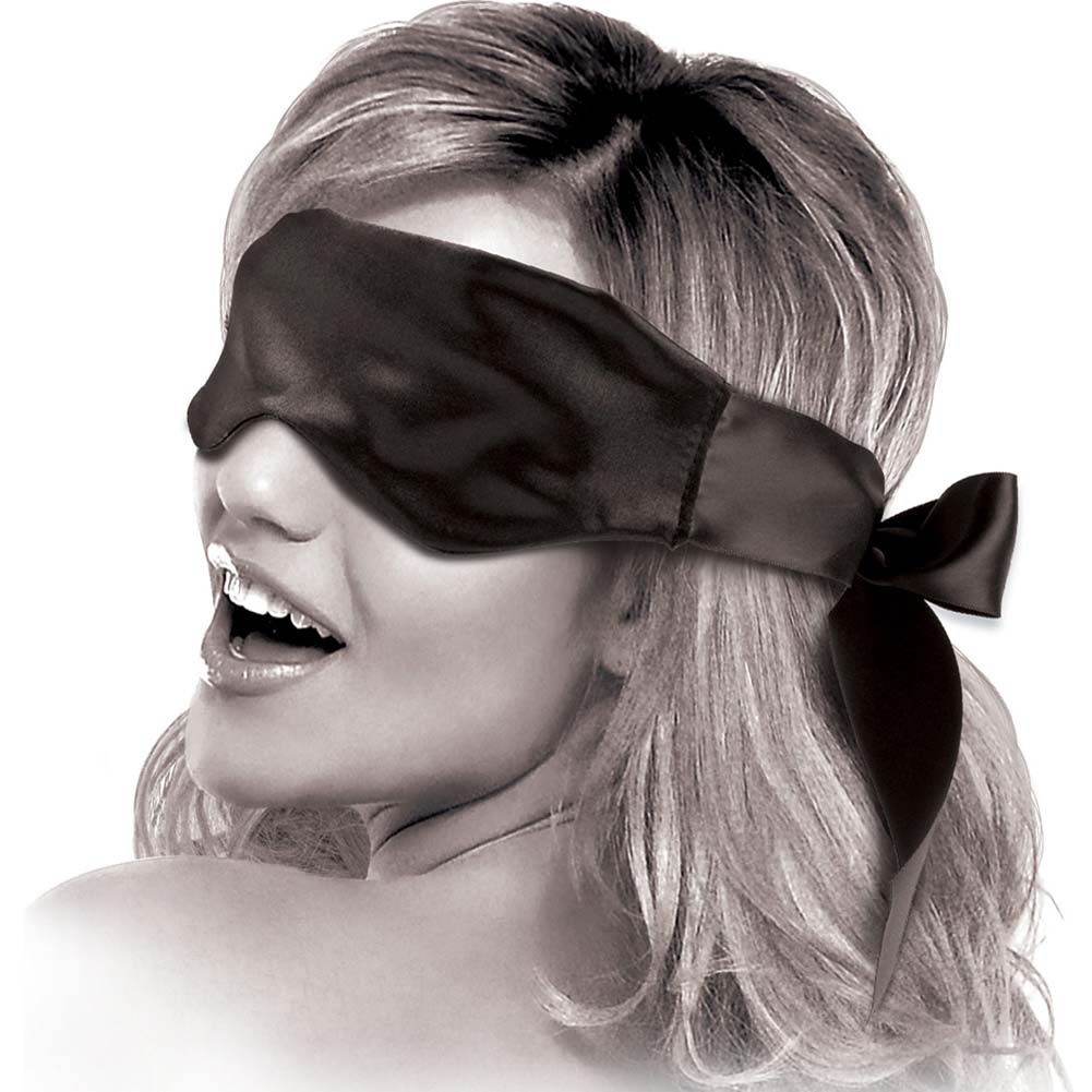 Fetish Fantasy Limited Edition Satin Blindfold Black - View #2
