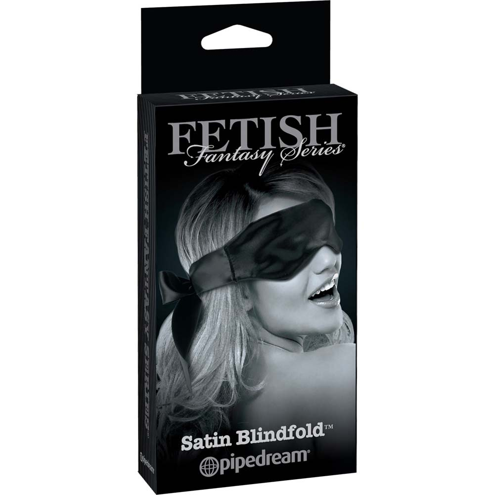 Fetish Fantasy Limited Edition Satin Blindfold Black - View #4