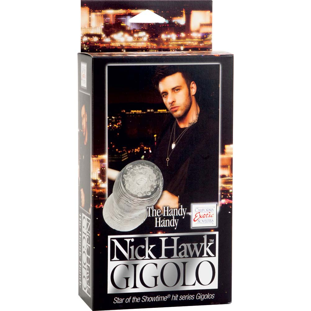 "Nick Hawk Gigolo Handy Handy Masturbator 5"" Smoke - View #1"