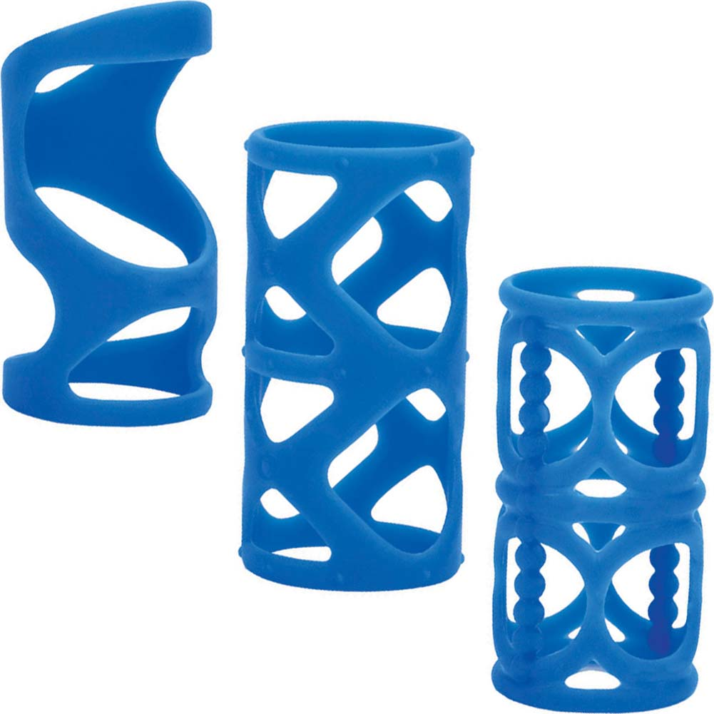 "Posh Silicone LoverS Cage 3"" Blue - View #2"