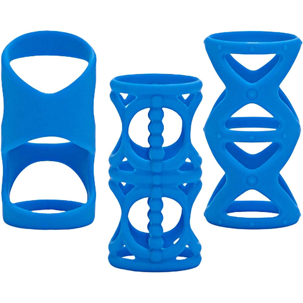 "Posh Silicone LoverS Cage 3"" Blue - View #4"