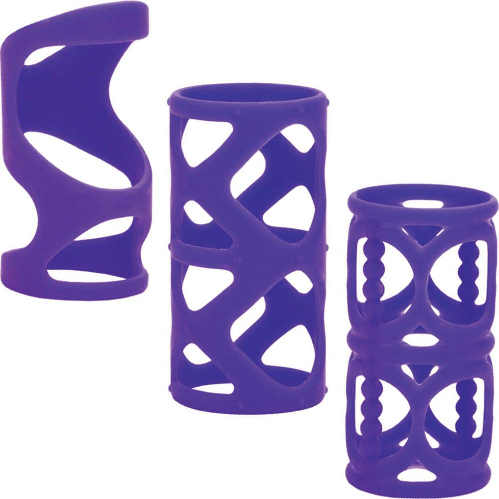 "Posh Silicone LoverS Cage 3"" Purple - View #2"