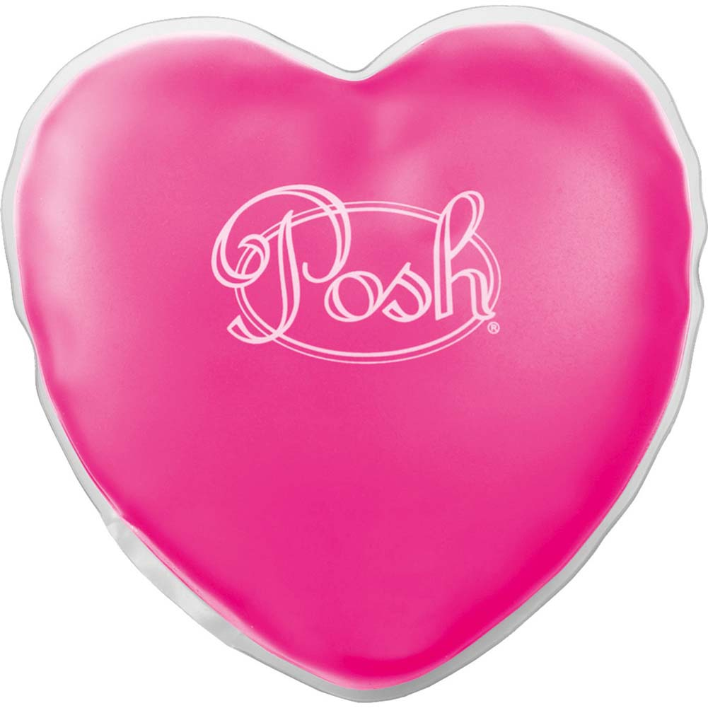 "Posh Warm Heart Massager 5"" Pink - View #1"