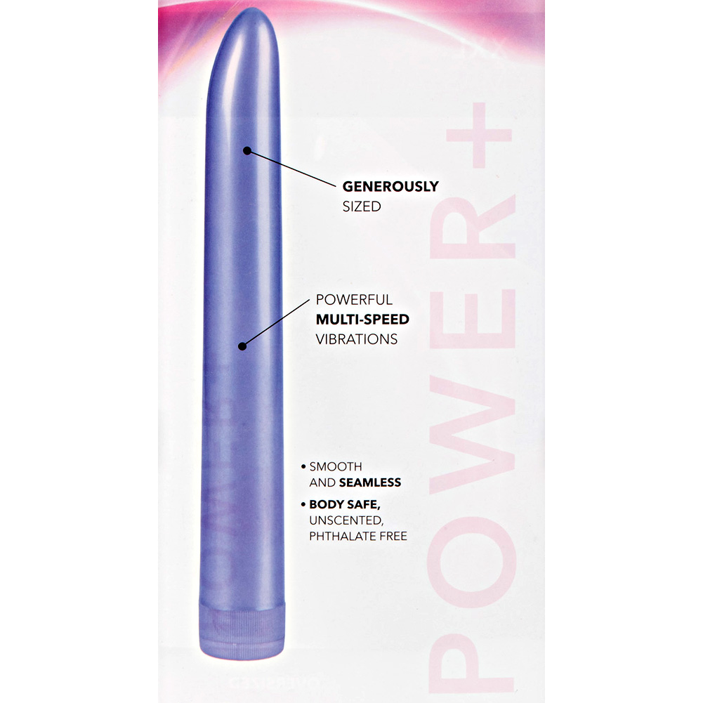 "California Exotics Jumbo Massager Extra Long Personal Vibrator 11"" Lavender - View #1"