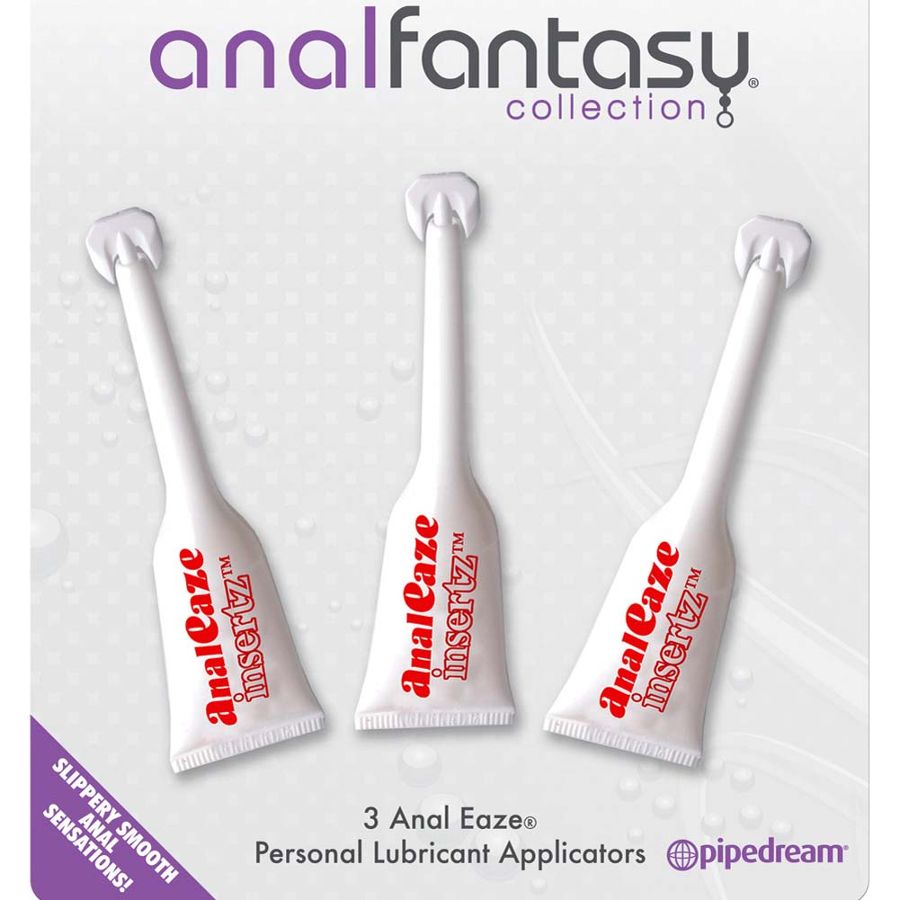 Anal Fantasy Collection Anal Eaze Insertz Sampler 3 Pack - View #2