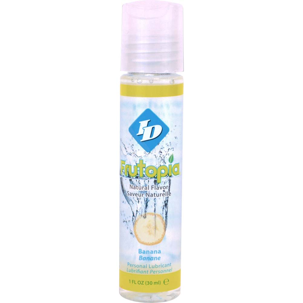 ID Frutopia Naturally Flavored Personal Lubricant 1 Fl.Oz 30 mL Banana - View #1