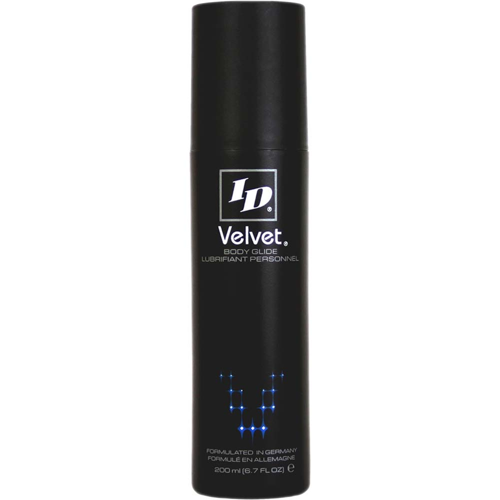 ID Velvet Body Glide Silicone-Based Lubricant 6.7 Fl. Oz. - View #1