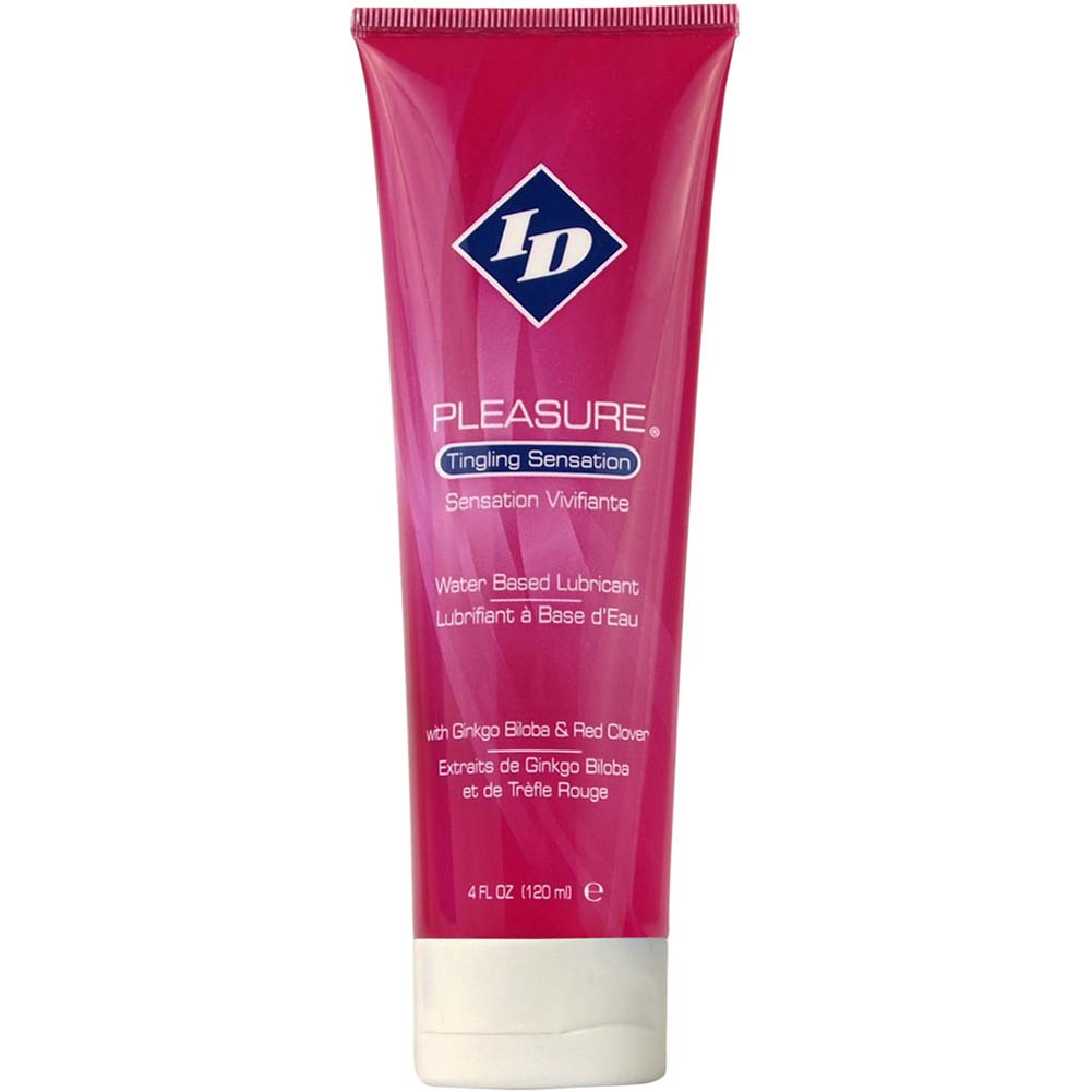 ID Pleasure Sensual Water-Based Lubricant 4 Fl.Oz 120 mL Tube - View #1