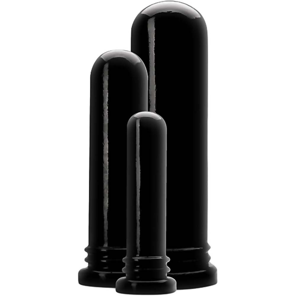 Wildfire Down and Dirty Ass Rod Anal Trainer Kit Black - View #2
