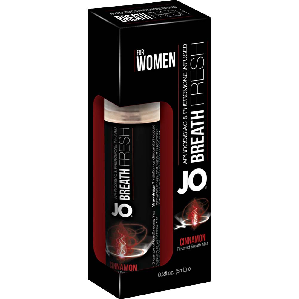 JO for Women Breath Fresh Mist with Pheromone 0.2 Fl.Oz 5 mL Cinnamon - View #1