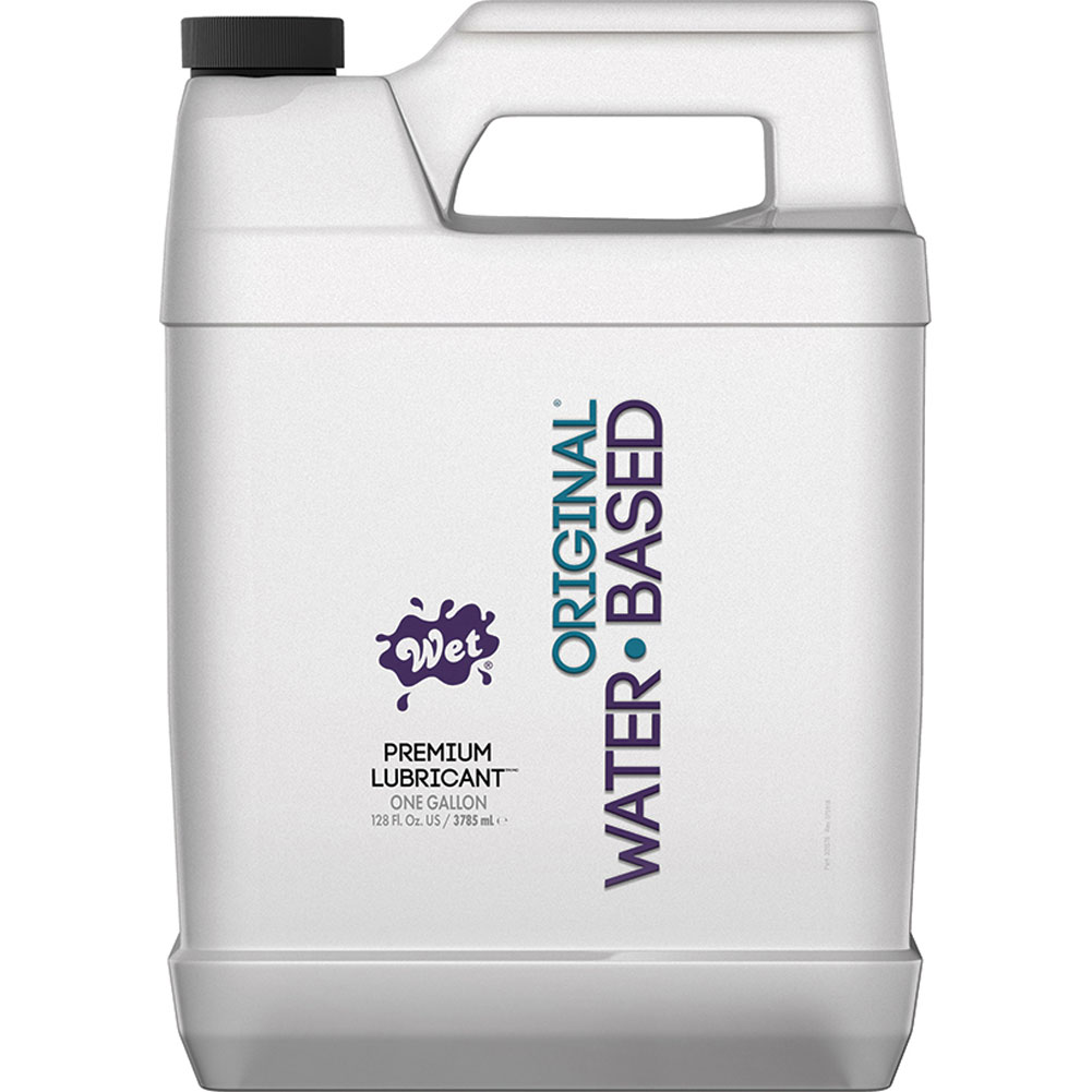 Wet Original Gel Water Based Personal Lubricant 1 Gallon - View #1