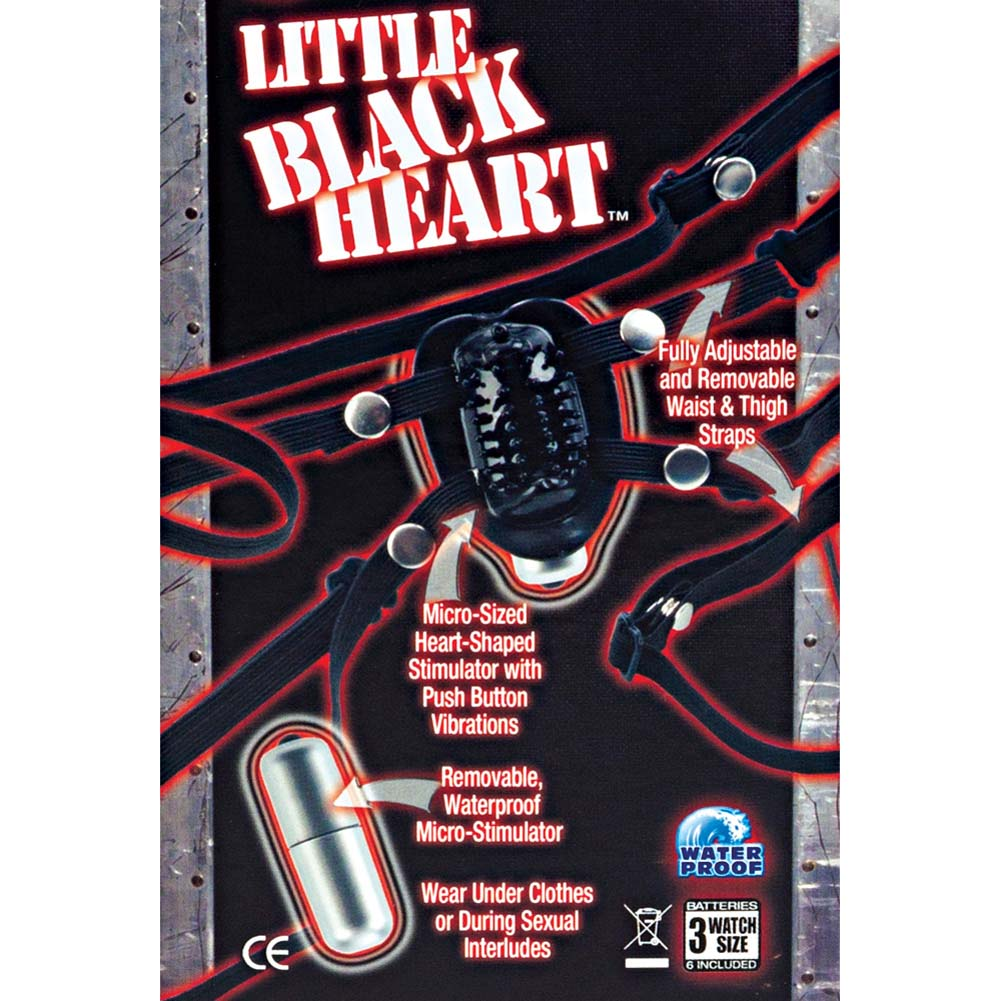 Phil Varone Little Black Heart Wearable Vibe Black - View #1