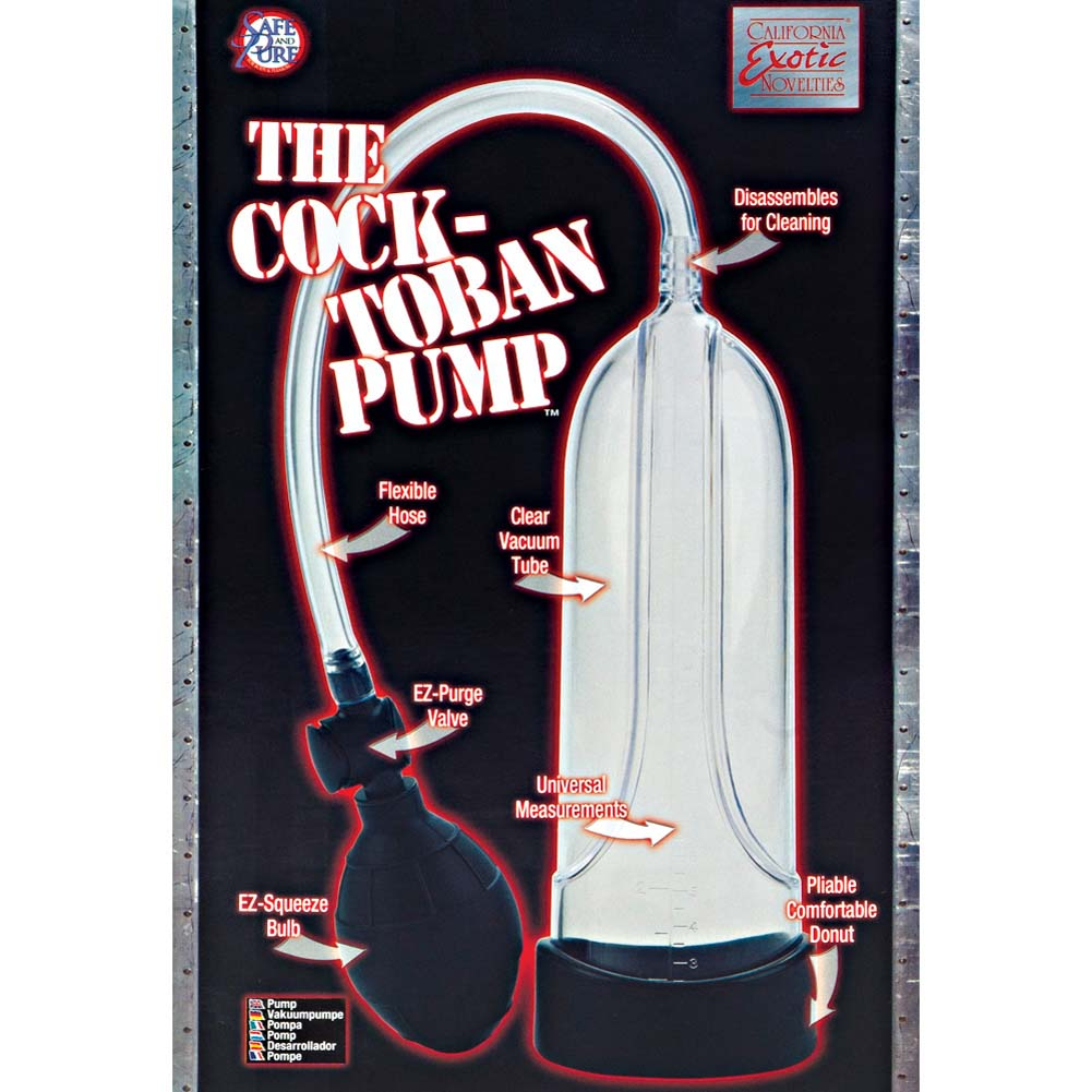 Phil Varone Cock-Toban Pump Clear - View #1