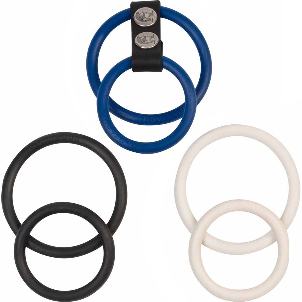 Spartacus Nitrile Nickel Free Dual Ring Set - View #2