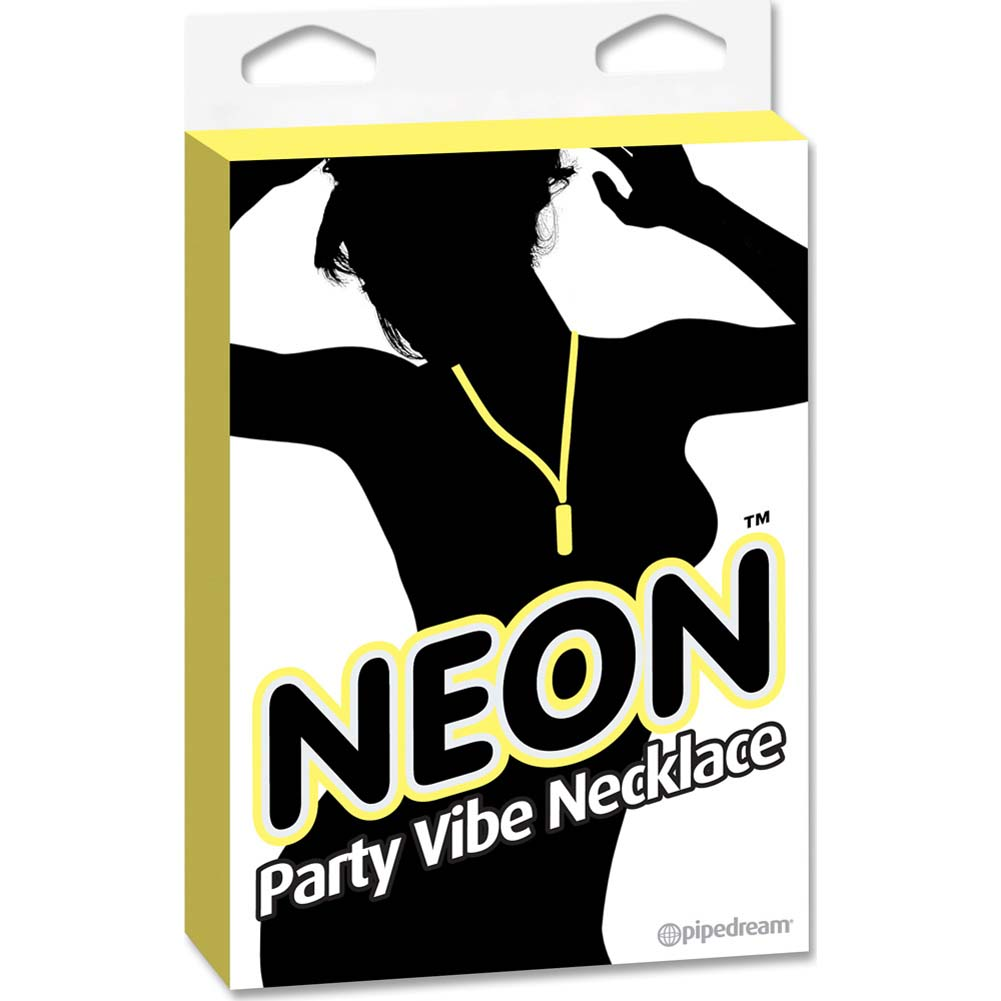 Neon Party Vibe Necklace Yellow - View #3