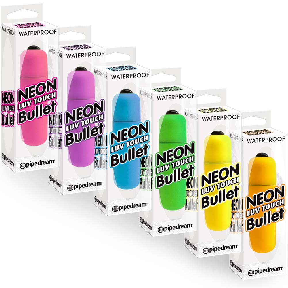 Neon Luv Touch Vibrating Bullets 24 Piece Display Box - View #4