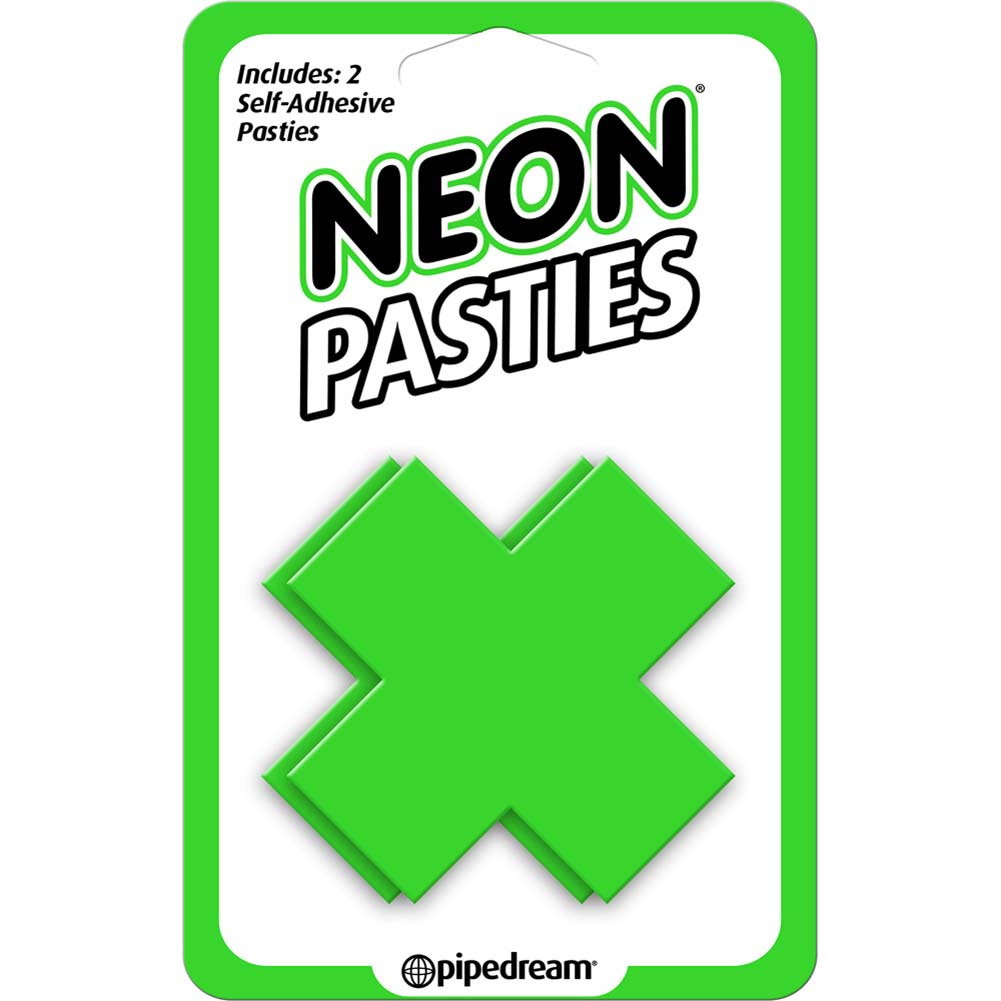 Neon Pasties Green - View #1