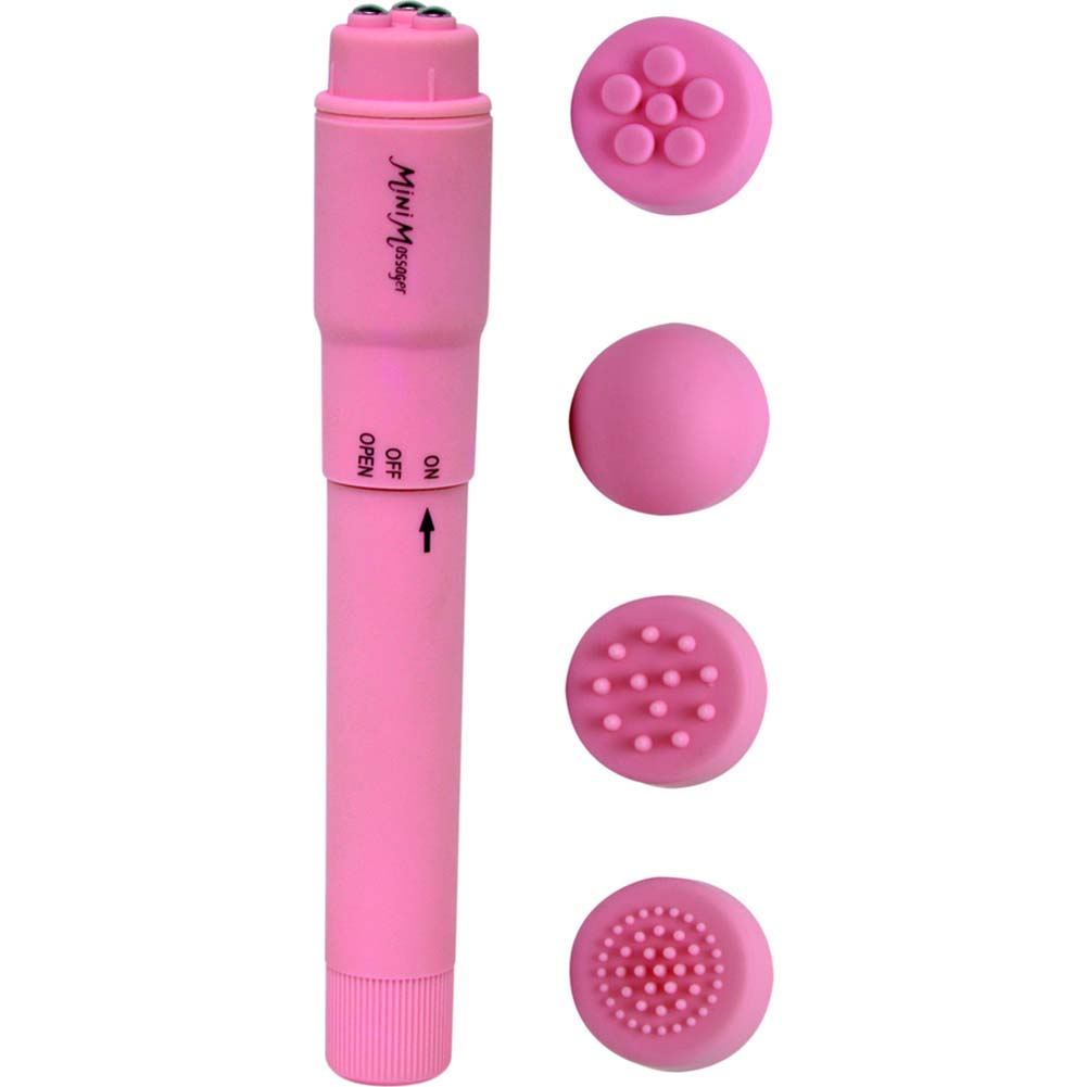 "Luv Touch Mighty Mite Vibrator 5.75"" Pink - View #2"